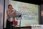 Julie Ferman (Cupid's Coach) Winner of Best Matchmaker in Miami at the January 28, 2010 Internet Dating Industry Awards