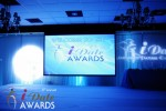 Awards Stage at the January 24, 2012 Internet Dating Industry Awards Ceremony in Miami