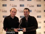 Honor Gunday & Benoit Boisset - PaymentWall won Best Payment System for 2012 at the January 24, 2012 Internet Dating Industry Awards Ceremony in Miami