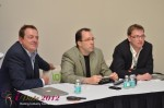 IDEA Session Panel - Max McGuire, Brian Bowman and Lorenz Bogaert at the 2012 Internet Dating Super Conference in Miami
