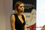 Oksana Reutova (Head of Affiliates at UpForIt Networks) at the 2012 E.U. Online Dating Industry Conference in Köln