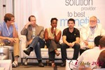 Robinne Burrell (VP at Match.com) during the Final Panel at iDate2012 L.A.