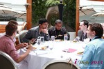 Lunch at the 2013 Internet and Mobile Dating Business Conference in Beverly Hills