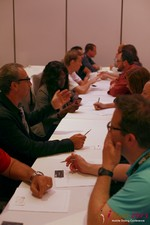 Speed Networking at the 34th iDate2013 Beverly Hills