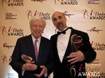 Dr. Warren & Paul Falzone at the January 17, 2013 Internet Dating Industry Awards Ceremony in Las Vegas