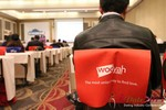Wooyah (Chair Cover Sponsor) at the 2013 Internet Dating Super Conference in Las Vegas