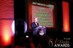 Sam Moorcroft announcing the Most Innovative Company in Las Vegas at the January 17, 2013 Internet Dating Industry Awards