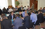 Speed Networking among Dating Industry Executives  at the 2014 European Union Online Dating Industry Conference in Köln