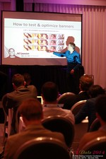 Axel Vezina, Chief Analytics Officer For Crak Media On Best Strategies For Mobile Dating Conversions  at the 2014 Los Angeles Mobile Dating Summit and Convention