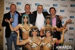 The Crew from Britian  at the 2014 Las Vegas iDate Awards Ceremony