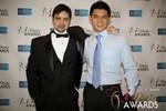 Arthur Malov & Kevin Feng  at the 2014 Las Vegas iDate Awards Ceremony