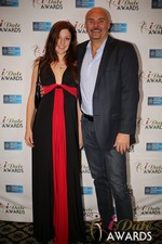 Tatyana Seredyuk & Sean Kelley  in Las Vegas at the January 15, 2014 Internet Dating Industry Awards