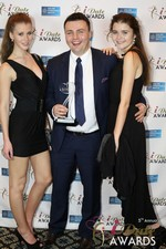 Maciej Koper of World Dating Company (Winner of Best New Technology) in Las Vegas at the 2014 Online Dating Industry Awards