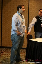 Carlos Magalhaes - CEO of Mentis Dating at the January 14-16, 2014 Las Vegas Internet Dating Super Conference