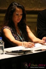 Carmelia Ray at the January 14-16, 2014 Las Vegas Internet Dating Super Conference
