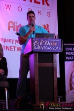 Nick Bicanic - Co-Founder @ IDCA at the January 14-16, 2014 Internet Dating Super Conference in Las Vegas