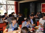 Lunch at the May 28-29, 2015 China Far East Internet and Mobile Dating Industry Conference