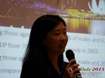 Violet Lim - CEO of Lunch Actually at the 2015 Far East Online Dating Industry Conference in China