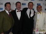 Michael O'Sullivan, Mark Brooks, Max McGuire and Marc Lesnick at the 2015 Las Vegas iDate Awards