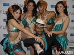 The 2015 iDate Award Dancers at the January 15, 2015 Internet Dating Industry Awards Ceremony in Las Vegas