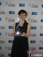 Irina Stepanova from PG Dating Pro - Winner of Best Dating Software & SAAS at the 2015 iDate Awards