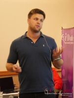 Ben Lambert CEO Clocked Io Speaking At CEO Therapy at the U.K. & E.U. iDate conference and expo for matchmakers and online dating professionals in 2015