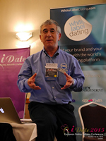 Dave Wiseman Vice President Of Sales And Marketing Speaking To The European Dating Market On Scam Detection Technology at the 2015 London Euro Mobile and Internet Dating Expo and Convention