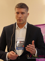 Hristo Zlatarsky CEO Elitebook.bg With Insights On The Bulgarian Mobile And Online Dating Market at the 2015 London Euro Mobile and Internet Dating Expo and Convention