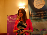 Juliette Prais CEO of Pink Lobster Dating Speaking at CEO Therapy at the Euro and U.K. iDate conference and expo for matchmakers and online dating professionals in 2015