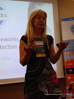 Monica Whitty Professor Of Psychology University Of Liecester at the 12th annual U.K. & E.U. iDate conference matchmakers and online dating professionals in London