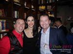 Networking Party At The Library In London For UK Dating And Match Making CEOs And Owners  at the Euro iDate conference and expo for matchmakers and online dating professionals in 2015