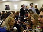 Speed Networking Among CEOs General Managers And Owners Of Dating Sites Apps And Matchmaking Businesses  at the U.K. & E.U. iDate conference and expo for matchmakers and online dating professionals in 2015