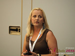 Krystina Trushnya - Publisher of Ukranian Dating Blog at the 45th iDate P.I.D. Business Trade Show