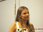 Svetlana Mukha - CEO of Diolli at the 45th Premium International Dating Industry Conference in Cyprus