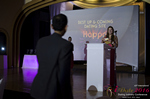 Svetlana Mukha Presenting the Best Up & Coming Dating Site Award at the 2016 Miami iDate Awards Ceremony
