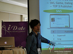 Takuya Iwamoto (Diverse-yyc-co-jp)  at the 38th iDate2016 L.A.
