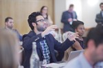Questions from the audience at UK iDate Dating Business conference in London 2016. at the 42nd iDate2016 Londres convention