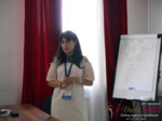 Elena Vygnanyuk at the 49th International Romance Business Conference in Misnk, Belarus