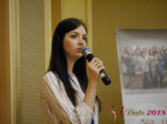 Olga Resnikova - CEO of Ukrainian Space at the 52nd Dating Agency Negócio Conference in